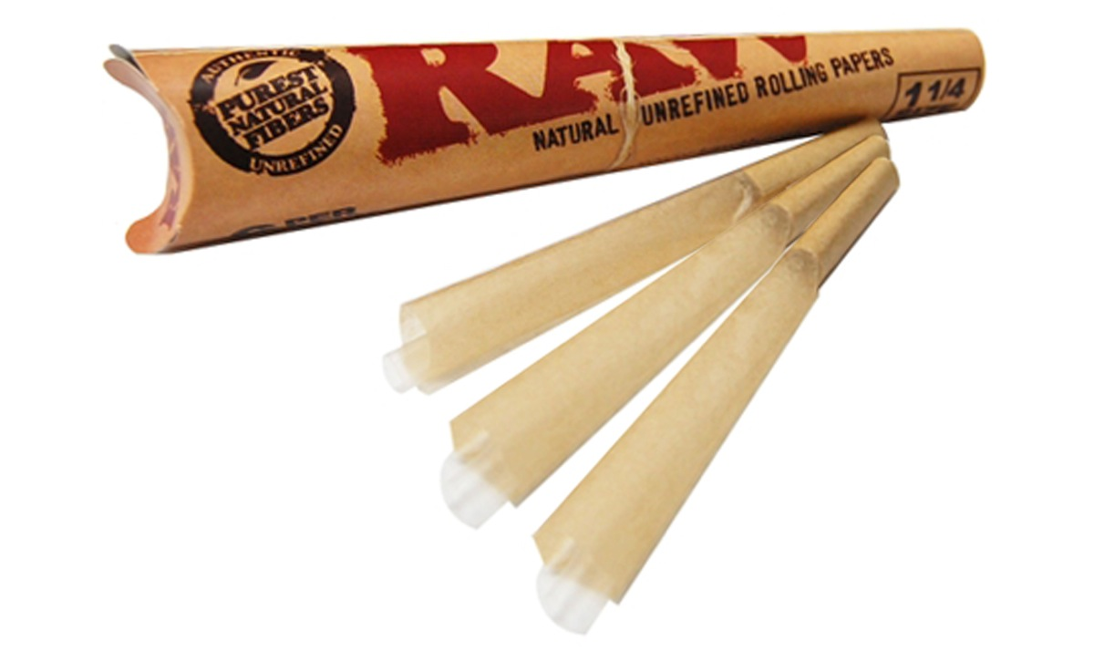 Perfect pre-rolled cones made of RAW's natural hemp rolling papers, and what a great deal, too! Wow!