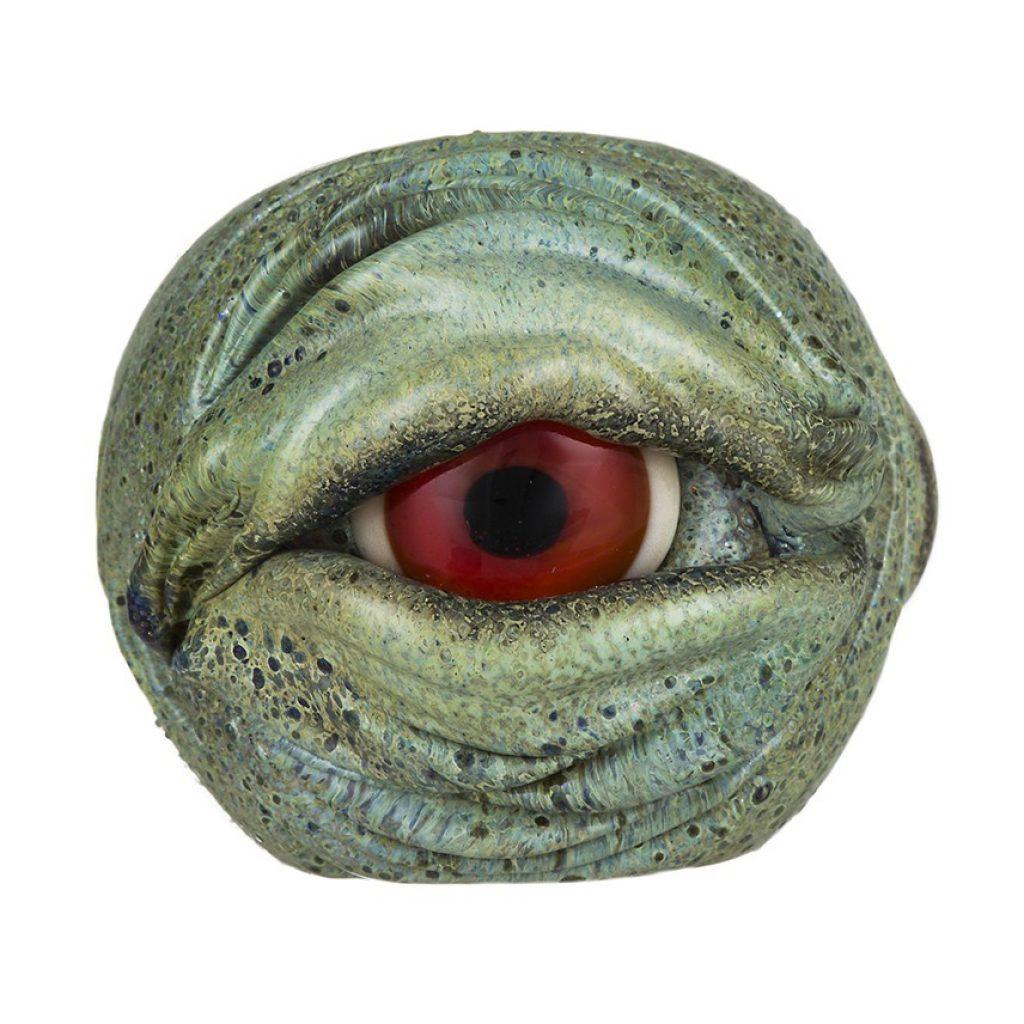 A pipe that looks like an eyeball!