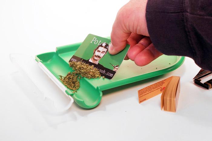 Pot Snob Rolling Tray 2 Weedgadgets