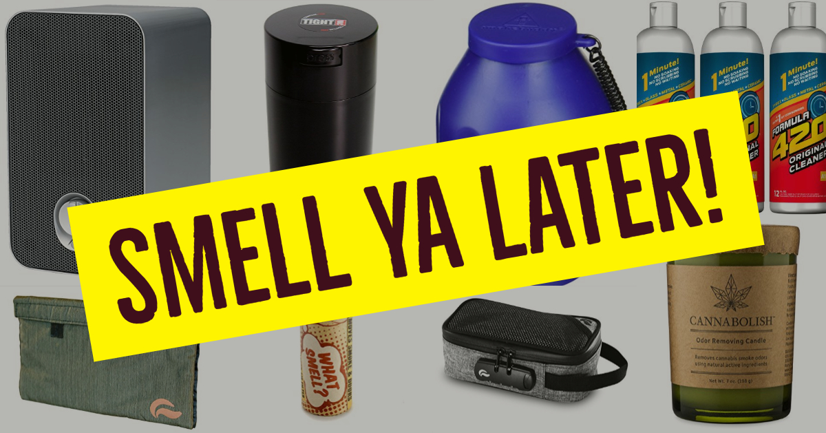 Hide the smell of weed and cannabis smoke with these cool products