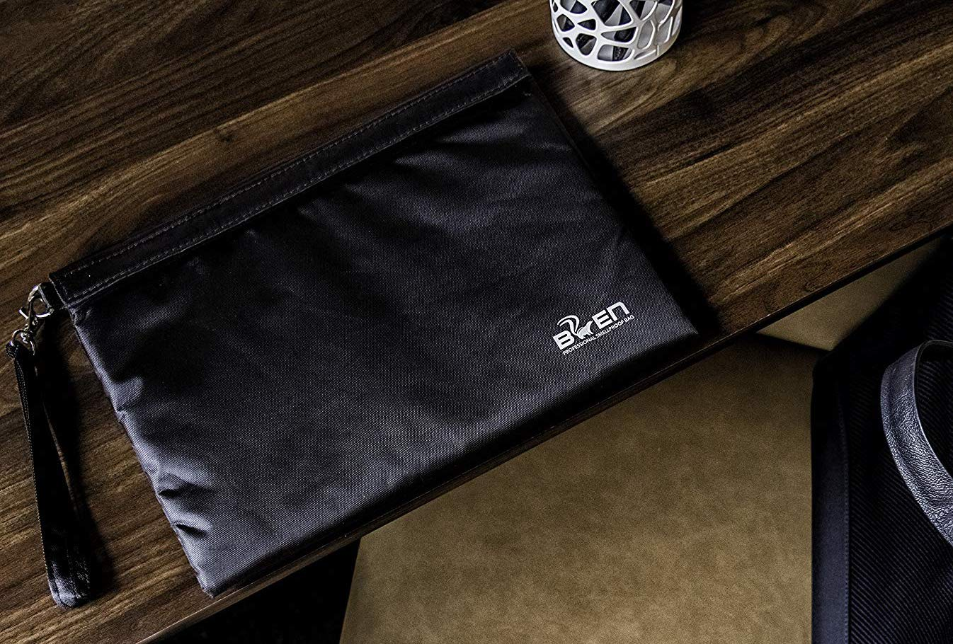 Smellproof pouch is a great bag to keep smells contained.