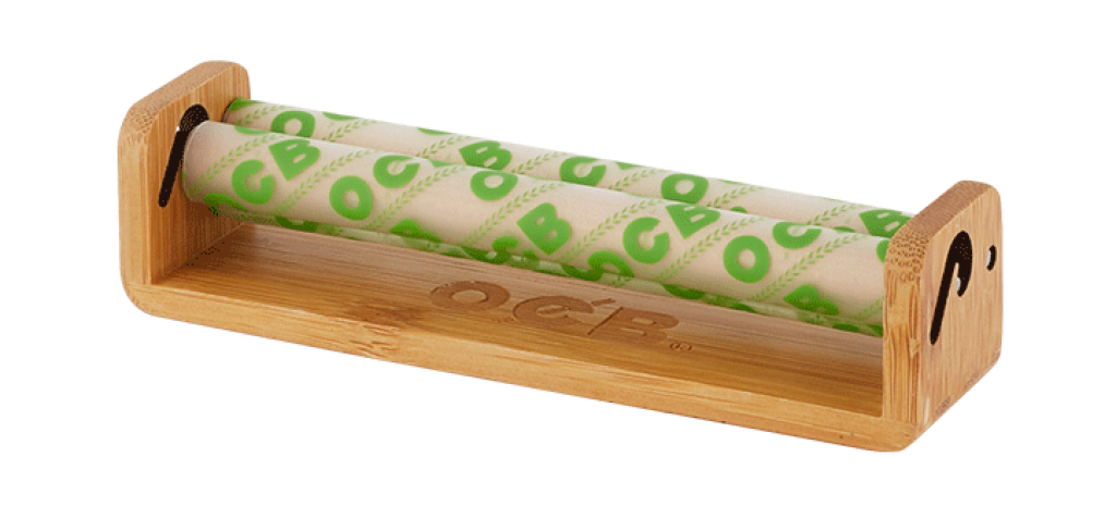 Beautiful upgraded bamboo wood rolling machine from OCB makes a great gift