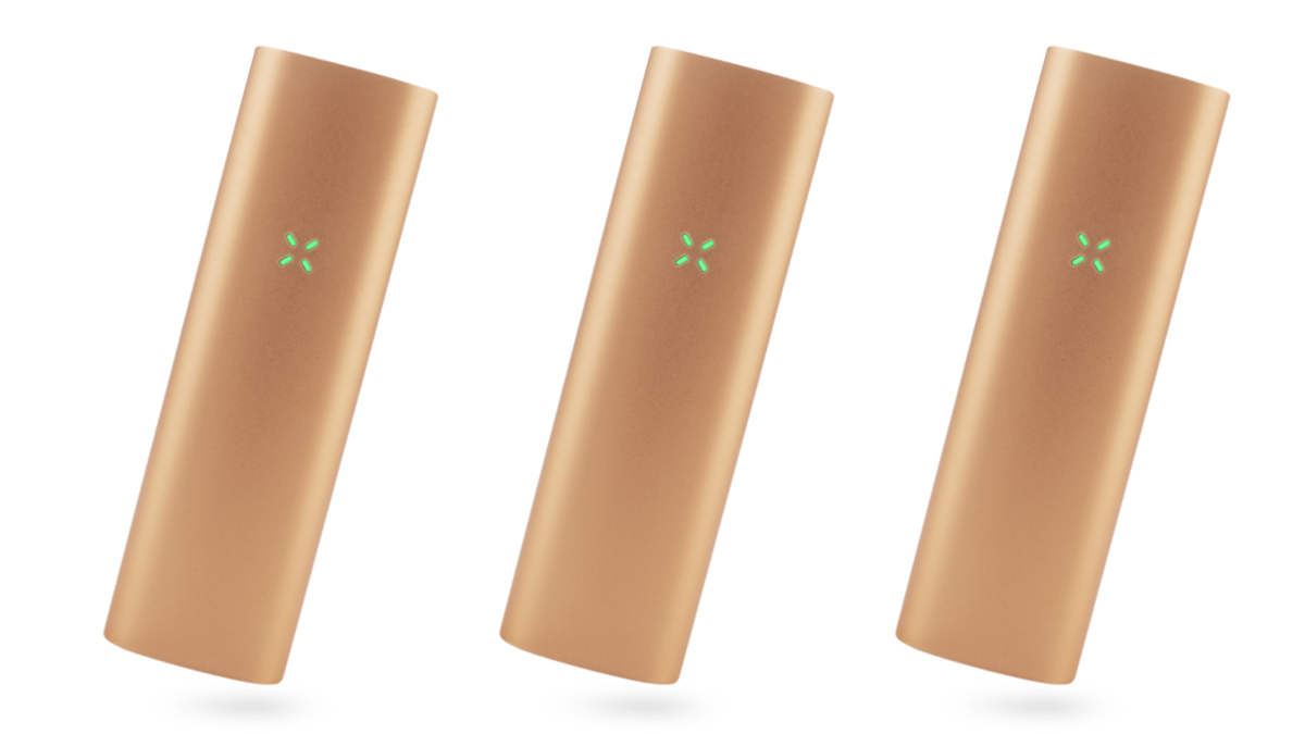 The PAX 3 is Rose Gold makes a great swanky stoner gift for the holidays