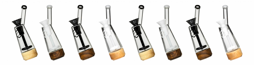 This cool and classy bubbler is a high-end smoking device that filters with water for a premium weed experience.